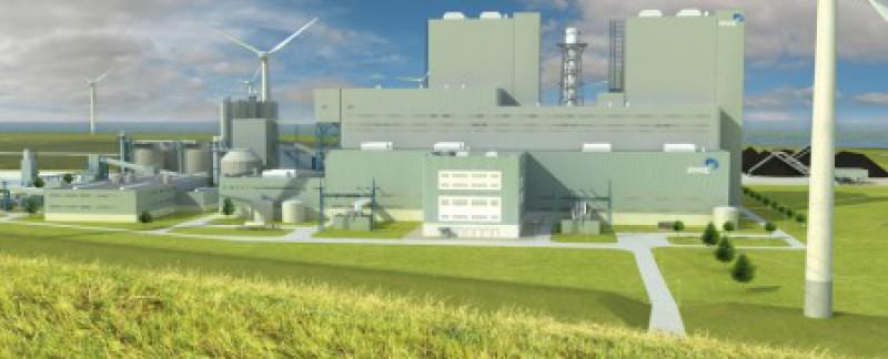 Bouwstroom RWE centrale Eemshaven
