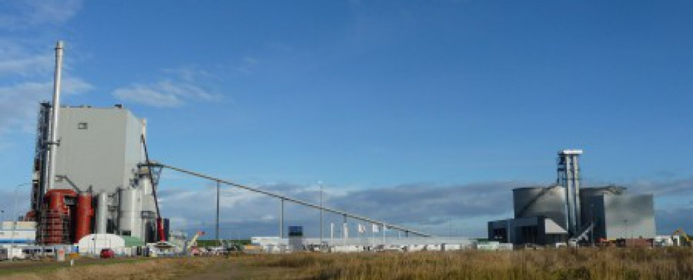 Nieuwbouw Bio Energiecentrale ENECO Delfzijl